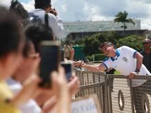"""Jair Bolsonaro hält Absagen im Sport wegen der Coronavirus-Pandemie für """"Hysterie"""". Foto: Jose Cruz/Agencia Brazil/dpa"""