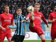 Trotz der Corona-Krise soll die Saison der 3. Fußball-Liga zu Ende gebracht werden