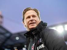 Regt einen Erfahrungsaustausch von Fußball-Trainern an: Kölns Trainer Markus Gisdol