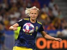 Die Schwedin Hanna Glas unterschrieb beim FC Bayern einen Vertrag bis zum Sommer 2023