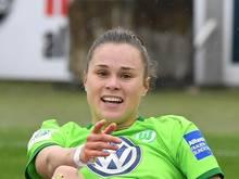 Verlängert beim VfL Wolfsburg bis 2023: Ewa Pajor