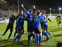 Der 1. FC Saarbrücken steht im Halbfinale des DFB-Pokals