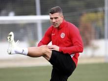 Freut sich wieder auf dem Platz zu stehen: Türkei-Legionär Lukas Podolski