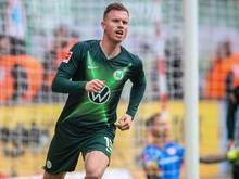 Muss trotz schwerer Gesichtsverletzung nicht operiert werden: Yannick Gerhardt vom VfL Wolfsburg