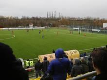Gegen den europäischen Trend wurde in Weißrussland weiter Fußball gespielt. Foto: Sergei Grits/AP/dpa