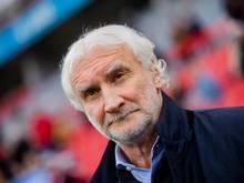Angesäuert: Leverkusen-Sportchef Rudi Völler.