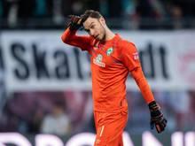 Bremens Torwart Jiri Pavlenka ist gespannt auf den Bundesliga-Neustart