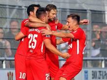 Türkgücü München führt die Regionalliga Bayern an