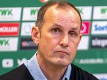 Pflichtspieldebüt als FCA-Coach auf Schalke: Heiko Herrlich