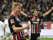 Martin Hinteregger ist mit Eintracht Frankfurt bei den Bayern gefordert