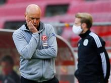 Uwe Rösler holte mit seiner Fortuna nur einen Punkt gegen Köln