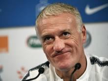 Didier Deschamps ist der Trainer der französischen Fußball-Nationalmannschaft