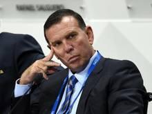Hat eine neunjährige Gefängnisstrafe erhalten: Der ehemalige FIFA-Vizepräsident Juan Ángel Napout