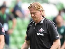 Soll seinen Vertrag beim 1. FC Köln verlängern:Trainer Markus Gisdol