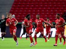 Die Bayern holen sich erneut den Pokal
