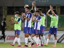 Die Spieler von Porto stehen kurz vor der Meisterschaft