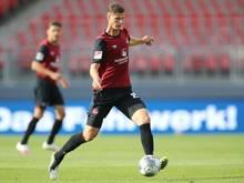 Wechselt vom 1. FC Nürnberg zu Werder Bremen: Patrick Erras