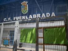 Geriet wegen zahlreicher Corona-Fälle in die Schlagzeilen: Der spanische Zweitligist CF Fuenlabrada.