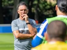 Plädiert für Vertrauen in die Entscheidungen der Regierung zu Corona: Hertha-Trainer Bruno Labbadia
