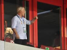 Hatte sich mit Bayer Leverkusen mehr in der Europa League erhofft: Rudi Völler