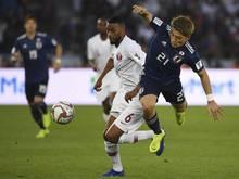 Arminia Bielefeld verpflichtete den japanischen Fußball-Nationalspieler Ritsu Doan (re.)