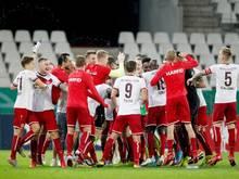 Rot-Weiss Essen setzte sich gegen Arminia Bielefeld durch