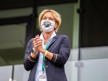 Gönnt ihren Spielerinnen längere Erholungspausen: Frauen-Bundestrainerin Martina Voss-Tecklenburg