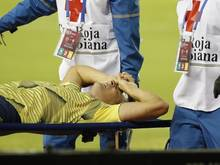 Leverkusens Kolumbianer Santiago Arias hatte sich gegen Venezuela schwer verletzt