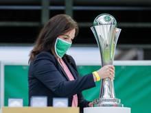 Der DFB-Pokal der Frauen - Anfang Dezember wird das Achtelfinale des Wettbewerbs ausgespielt