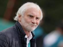 Angesäuert: Leverkusen-Sportchef Rudi Völler