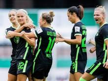 Die Frauen des VfL Wolfsburg verkürzten den Rückstand auf den FC Bayern