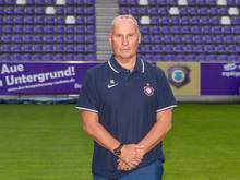 Helge Leonhardt ist der Präsident von Erzgebirge Aue