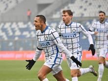 Alexis Sánchez brachte Inter gegenSassuolo in Führung