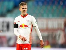 Hat mit RB Leipzig die Tabellenspitze im Blick: Dani Olmo