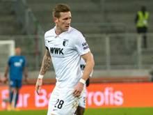 Wurde positiv auf das Coronavirus getestet: André Hahn vom FC Augsburg