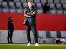 Bayern-Trainer Jens Scheuer freute sich über den Sieg