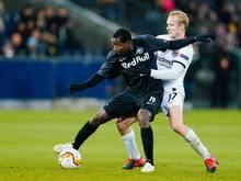 Wurde wie seine Salzburger Teamkollege Sekou Koita positiv auf eine verbotene Substanz getestet: Mohamed Camara (l)