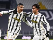 Cristiano Ronaldo (li.) zeigte eine starke Leistung