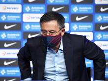 Erklärte Ende Oktober seinen Rücktritt als Präsident vom FCBarcelona: Josep Bartomeu