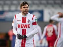 Jonas Hector war beim 0:0 gegen Hertha BSCnach einem Luftzweikampf in der 69. Minute ausgewechselt worden