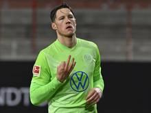 Wolfsburgs Wout Weghorst hat in der laufenden Saison bereits elf Tore in der Bundesliga erzielt
