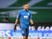 Augsburgs Torwart Rafal Gikiewicz war nach der 0:2-Niederlage gegen Bremen sauer