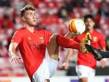 Auch vom Corona-Ausbruch bei Benfica SL betroffen: Luca Waldschmidt in Aktion