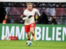 Glaubt noch immer an den Titel mit RB Leipzig: Emil Forsberg
