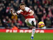 Der Vertrag von Shkodran Mustafi beim FC Arsenal läuft im Sommer aus