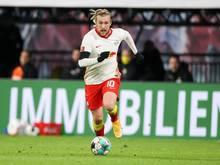 Leipzigs Emil Forsberg wird gegen Leverkusen nicht spielen können