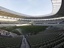 Ein Feuer hat Teile des WM-Stadions in der brasilianischen Stadt Fortaleza beschädigt