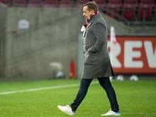 Ging mit Köln in Regensburg als Verlierer vom Platz: Sportdirektor Horst Heldt
