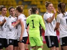 Die DFB-Frauen setzten sich gegen Belgien durch