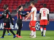 Der FCLiverpool und RB Leipzig treffen erneut in Budapest aufeinander